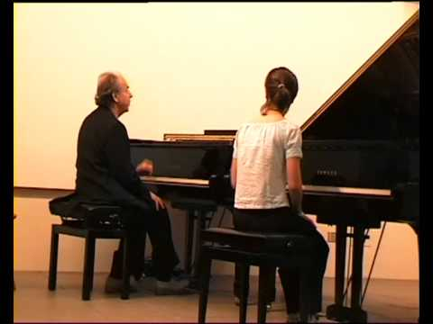 W. A. Mozart - Alla turca (3rd movement) Sonata K 331 Paul Badura-Skoda masterclass