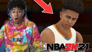 I'M IN NBA 2K21! My First NBA 2K21 MyCareer BUILD! NBA 2K21 My Career EP 1