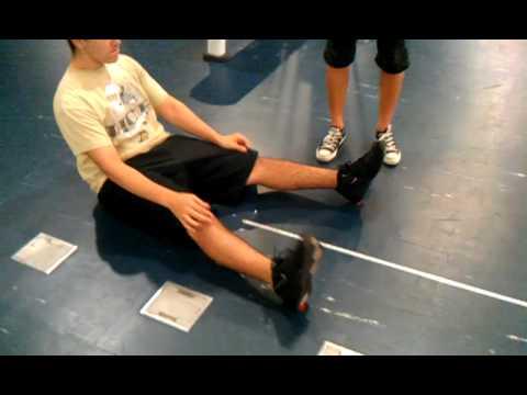 Fitness Assessment for Valdes: sit & reach test