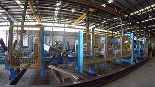 Conveyor Module with Diversion Plough Factory Acceptance Testing