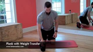 Plank with Weight Transfer