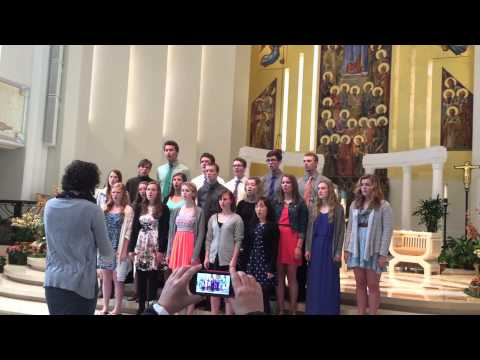St. Ed Choir At Loyola University Chapel In Chicago 4.25.15