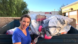 DUMPSTER DIVING- Our Lucky Dumpster is full.. AGAIN!