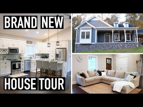 BRAND NEW HOUSE TOUR & FARMHOUSE STYLE FALL DECOR