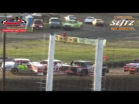 River Cities Speedway WISSOTA Street Stock Heats (13th Annual John Seitz Memorial) (9/6/19)