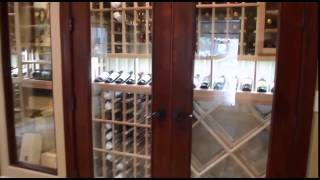 Manhattan Beach Los Angeles Wine Cabinet Custom Cellar Project Tour