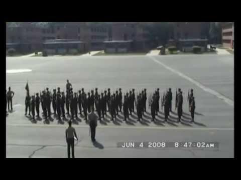 USMC Recruits Parris Island Final Drill