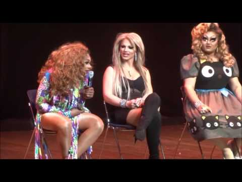Q + A at Season 8- The Queens- Columbus Ohio