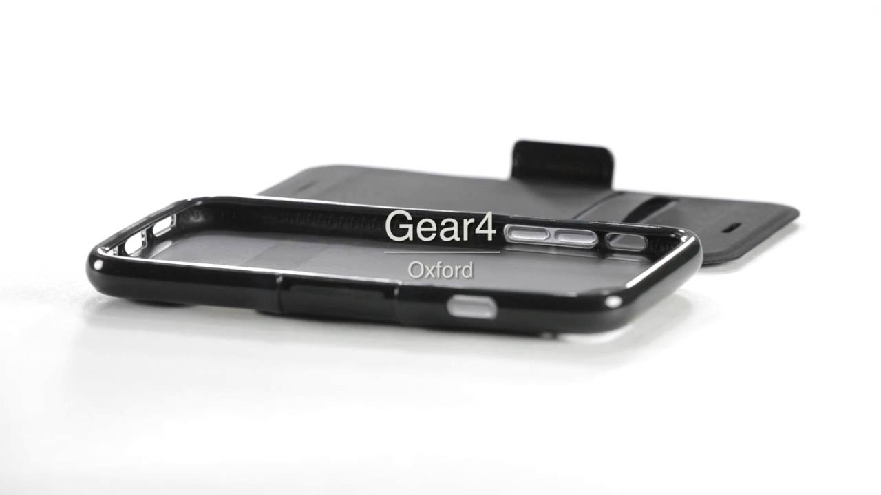 3b759999b5f66 iPhone 7 Plus Gear4 D3O Black Oxford BookCase