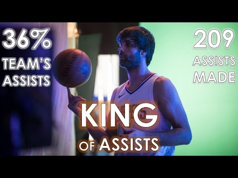 Milos Teodosic All 209 ASSISTS in Rookie 2017/18 NBA Season Chronologically | 36% Team's Assists