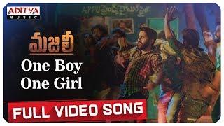 One Boy One Girl Full Song MAJILI Songs Naga Chaitanya Samantha Divyansha Kaushik