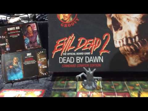 "SDCC: Horror News Network Checks Out ""Evil Dead 2: The Official Board Game"