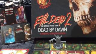 """SDCC: Horror News Network Checks Out """"Evil Dead 2: The Official Board Game"""