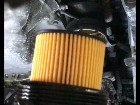 2003 Mazda 6i 23L oil and filter change - YouTube