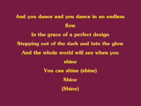 Barbie in The 12 Dancing Princessess  Shine wlyrics