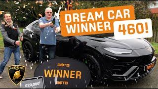 Winner! Week 5 2019 (28th January - 3rd February) - Lloyd Greeves - Lamborghini Urus + £20k