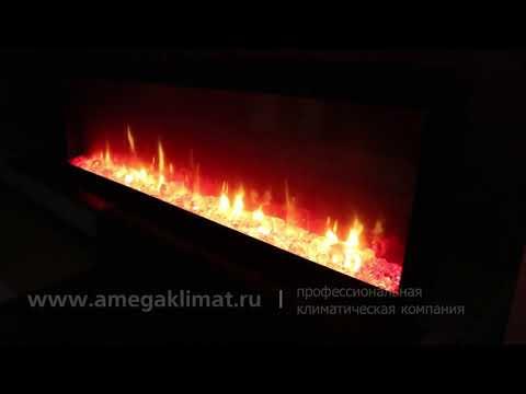 Длинный электрический камин - очаг Dimplex Ignite