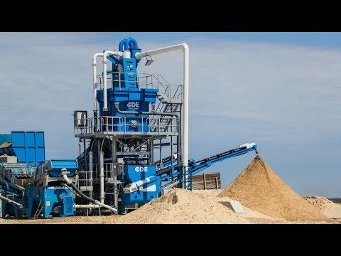 Custom CDE Sand Washing Plant Installed in 6 days in Argentina