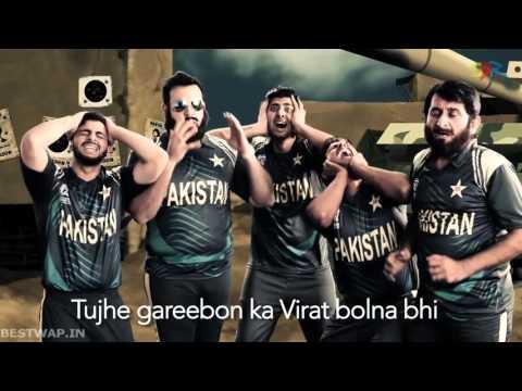 India vs Pakistan Cricket Rap Battle Funny Full Hd | 2016 | Bestwap