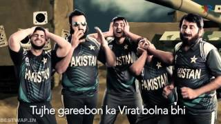 India vs Pakistan Cricket Rap Battle Funny Full Hd | 2016 | Bestwap