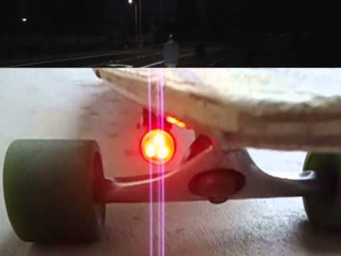 BOARDLIGHT ™ the new light for longboards and skateboards