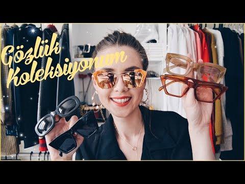 Gözlük Koleksiyonum   Kübra Sefa