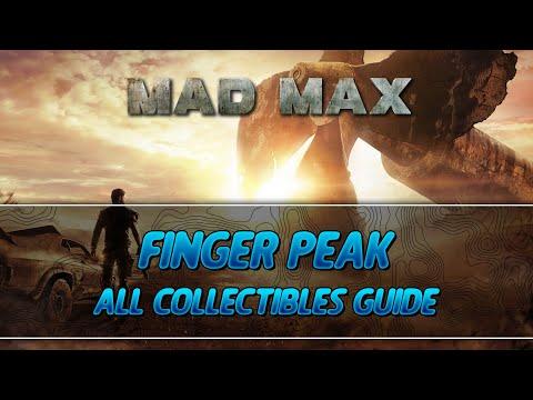 Mad Max | Finger Peak Camp All Collectibles Guide (History Relic/Insignia/Scrap/Survey Crew Parts)