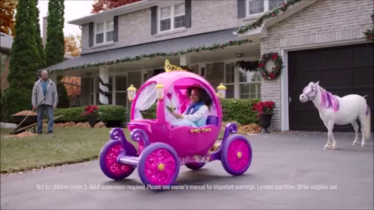 Walmart Toys Scooters For Boys : V disney princess carriage walmart advertisement youtube