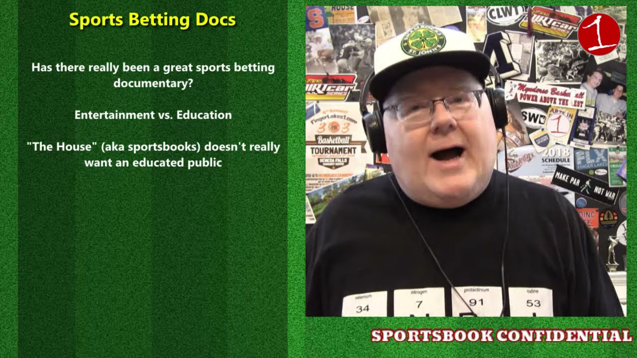 SPORTSBOOK CONFIDENTIAL: Reviewing Sports Betting Documentaries (podcast)