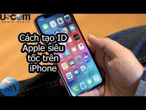 Cách tạo tài khoản icloud và id apple siêu tốc trên iPhone