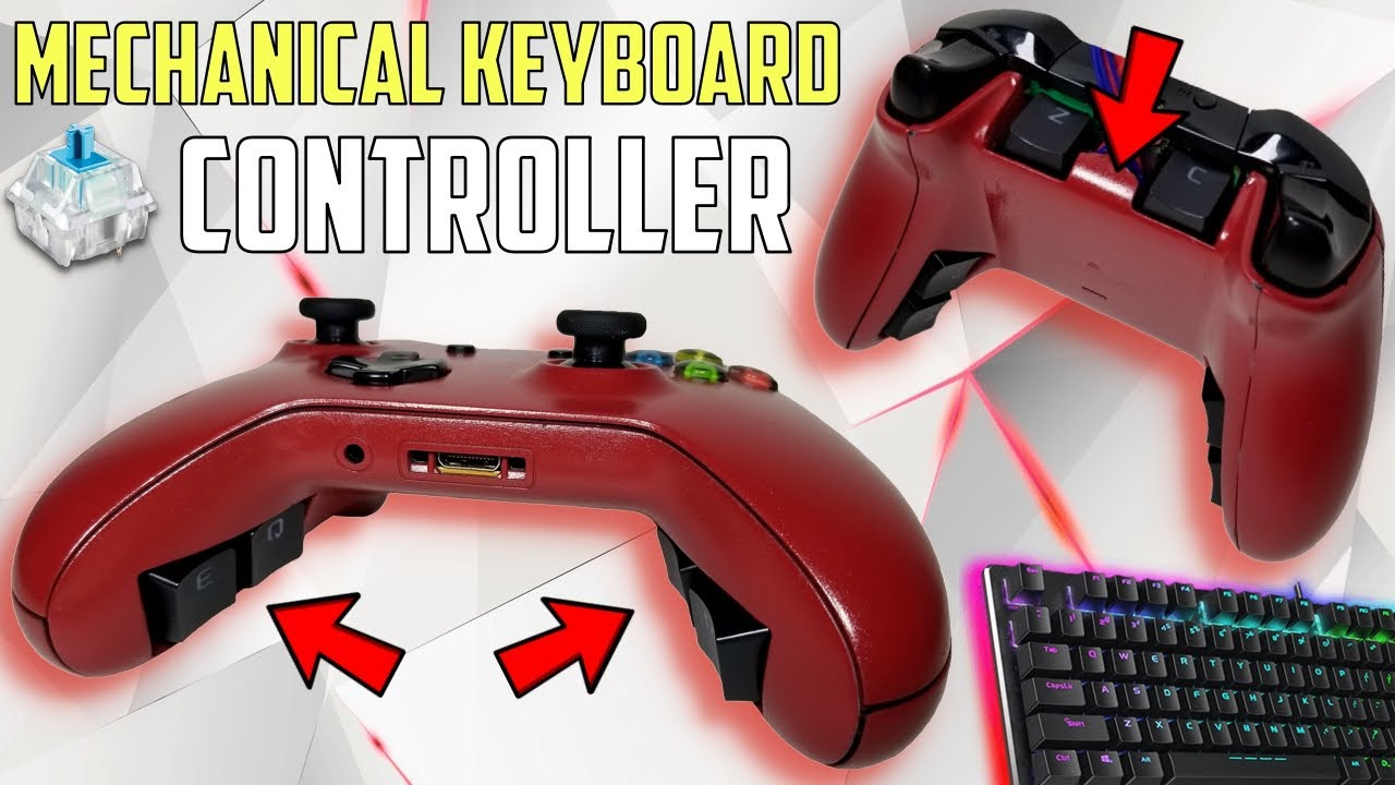 I built the BEST CONTROLLER in Fortnite | MECHANICAL KEYBOARD SWITCHES