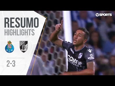 Highlights   Resumo: FC Porto 2-3 V. Guimarães (Liga 18/19 #3)