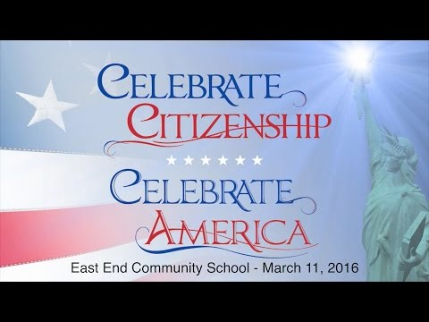East End Community School Naturalization Ceremony March 11, 2016