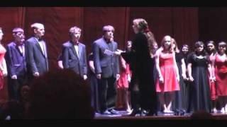 Indian Hills High School Chamber Choir at Radio City Music Hall 2010