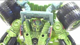 Video review of Transformers Revenge of the Fallen; Longhaul