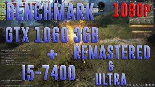 BLACK DESERT | GTX 1060 3GB + I5-7400 | 1920x1080 | REMASTERED & ULTRA BENCHMARK
