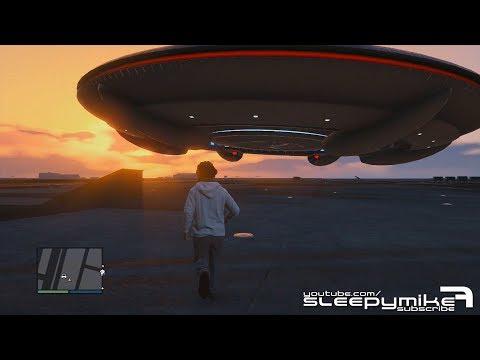 GTA V: Online - UFO Sighting at Los Santos Airport