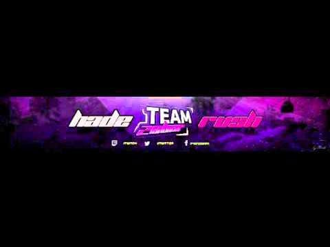 Free Team Zaber Youtube Banner Template PSD - YouTube