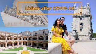 พาเที่ยวโปรตุเกส เมืองลิสบอนหลัง COVID19 ll Day 1 ll Belém Tower, Jerónimos Monastery