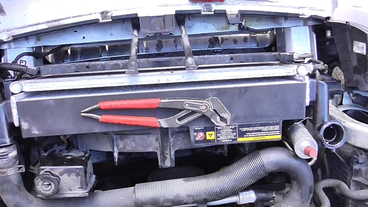 Jeep grand cherokee radiator replacement