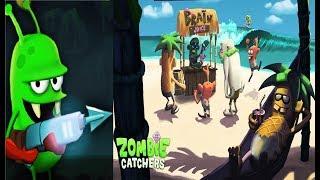 ОХОТНИКИ НА ЗОМБИ #152 Мульт Игра для детей про ловцов зомби Zombie Catchers #Мобильные игры