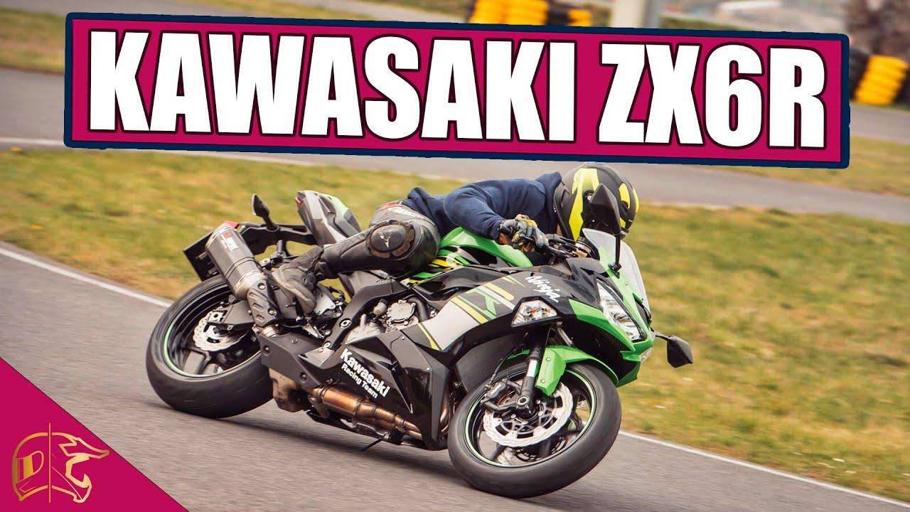 Kawasaki Zx6r Kurz Test Motoweek 9 Youtube