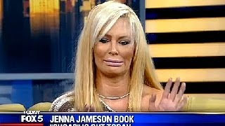 Jenna Jameson Plastered In Awkward Interview