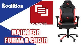 MAINGEAR Forma Gaming Chair Unboxing and Impressions - The Koalition