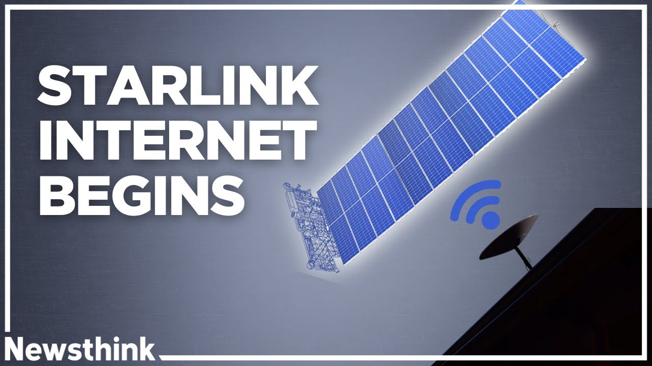 SpaceX starts rolling out Starlink broadband internet