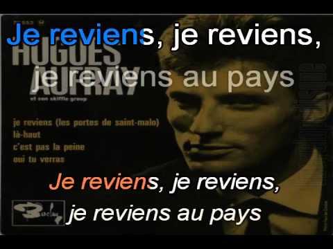 Hugues Aufray_Je reviens (Les portes de St-Malo)(1963)