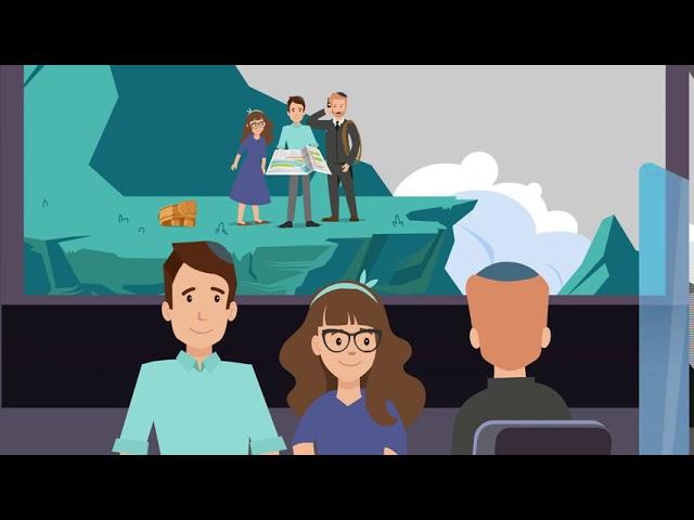présentation de l'Institut Pouah en francais - film animation