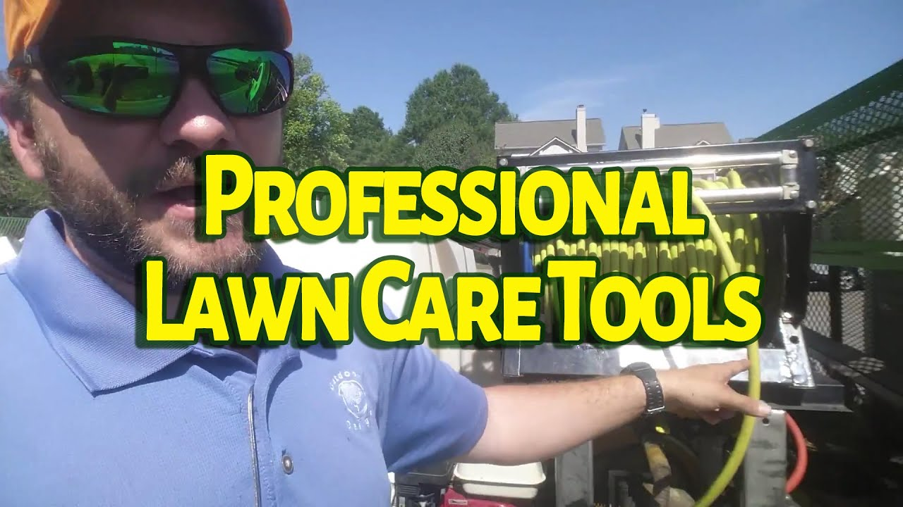 Professional Lawn Care Tools And Equipment Daily Use