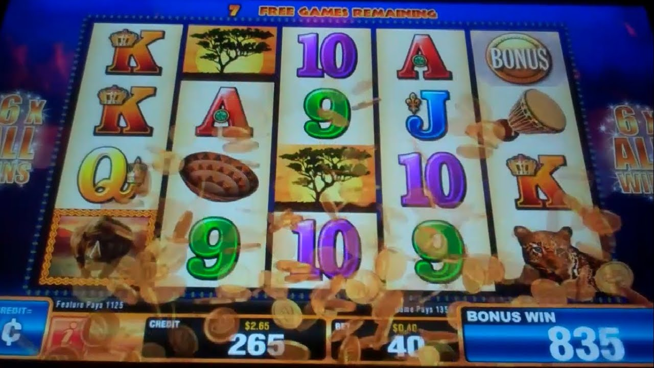Thunderhorn Slot Machine