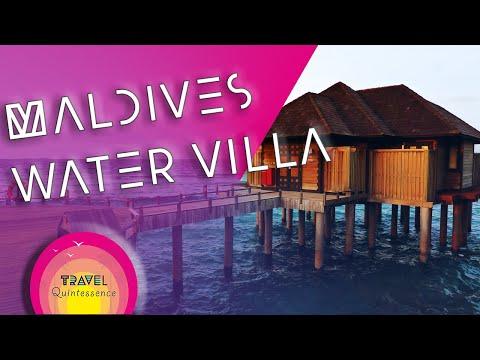Water Villa At The Sun Siyam Iru Fushi Maldives Extended Version You